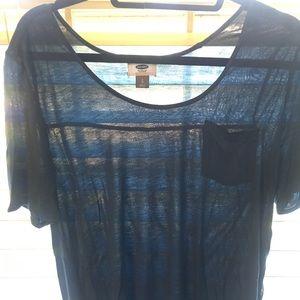 Old Navy Teal Shirt